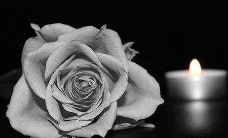 Beerdigung von Helmut Stahlhut